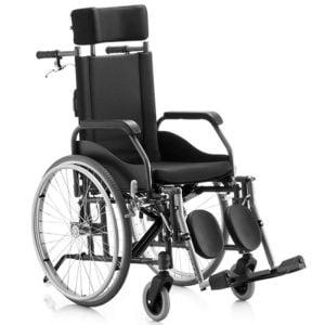 cadeira reclinavel em aluminio