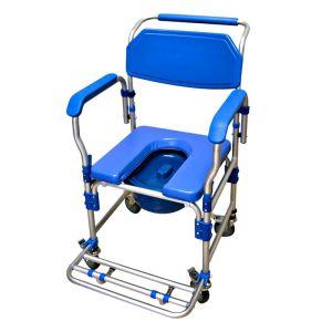 cadeira de banho azul