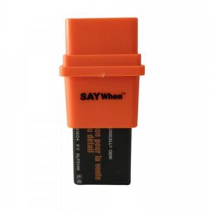 produto de plástico retangular cor laranja e preto