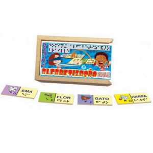 dominó para alfabetização