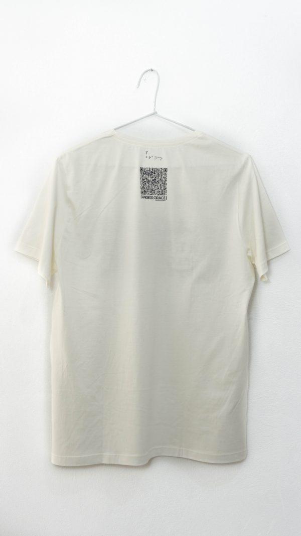 Camiseta Qr Code e Braille