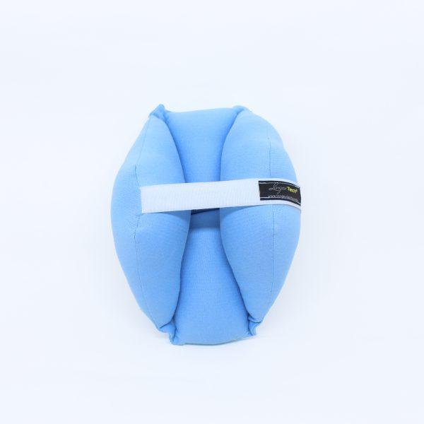 Almofada Protetora de Cotovelo Azul