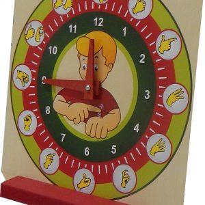 Relógio Educativo em Libras
