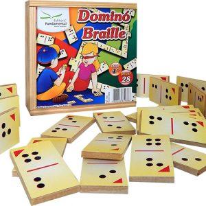 Jogo Dominó em Braille