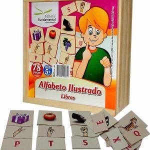 Jogo Alfabeto Ilustrado Libras