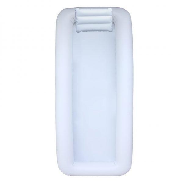 Cama Inflável Branca para Banho no Leito