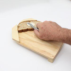 Tábua para pão adaptada