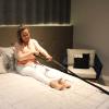 Escada auxiliar para posicionamento na cama