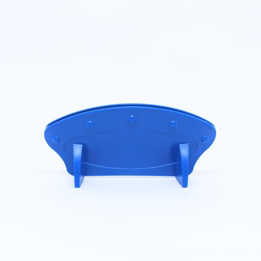 Suporte para baralho azul