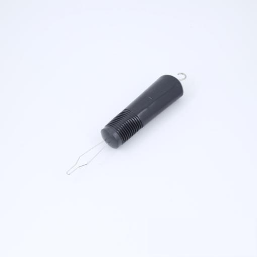 Puxador de botão e zíper