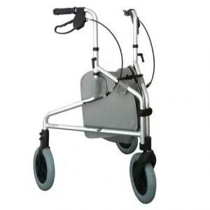 Andador Ortopédico para Idoso com 3 Rodas Comfort Sl-309 - Confort Praxis