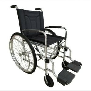 Cadeira de rodas M2000 Cromada