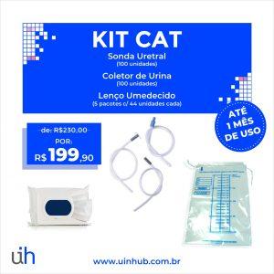 Imagem do Kit Cat com imagens dos produtos inseridos e o preço - R$ 199,90