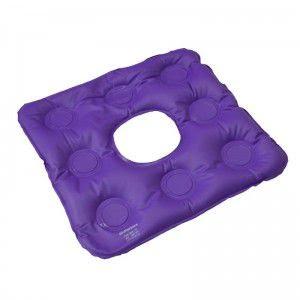 Almofada anti-escaras inflável quadrada caixa de ovo com orifício - Bioflorence