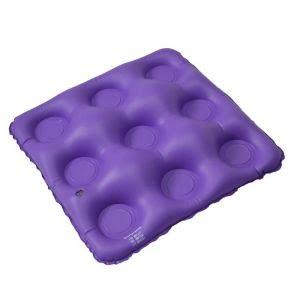 Almofada anti-escaras inflável quadrada caixa de ovo fechada - Bioflorence