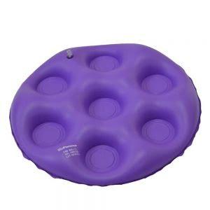 Almofada anti-escaras inflável redonda caixa de ovo - Bioflorence