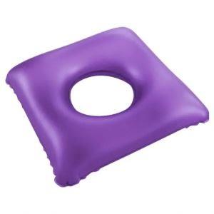 Almofada inflável quadrada com orifício - Bioflorence