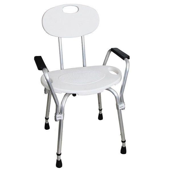 Cadeira para banho com braços - Mebuki