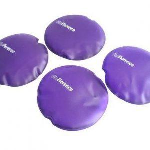 Kit com 4 unidades de almofadas em gel anti escaras - Bioflorence