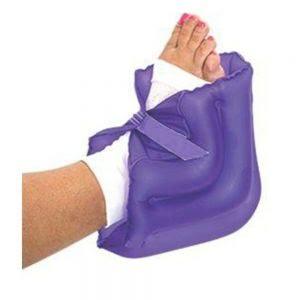 Posicionador inflável para calcanhar e tornozelo na prevenção de escaras - Bioflorence