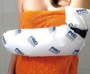 Protetor de gesso para banho - probanho braço infantil