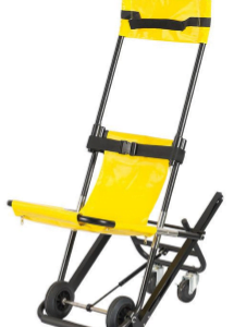 Cadeira Amarela para uso em situações de emergência