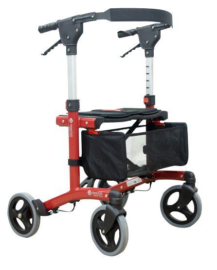 Andador de alumínio 4 rodas Walker Plus - Freedom