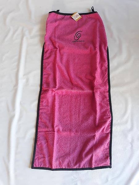 Toalha sem braço rosa